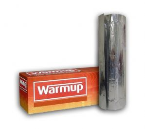 Warmup Underfloor Foil Heating Kit for Laminate/Carpet/Wood/Vinyl Inc Thermostat